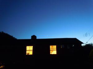 瑞穂ハウスの黄昏